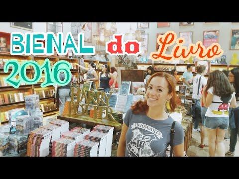 Vlog: 1a vez na Bienal do Livro