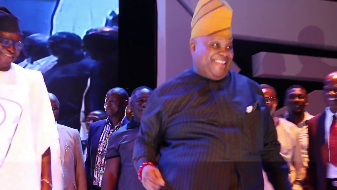 Senator Ademola Adeleke Dances to Olamide