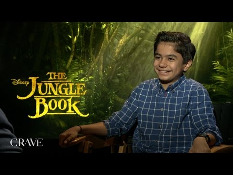 "THE JUNGLE BOOK | Neel Sethi ""Mowgli"" Exclusive Interview"