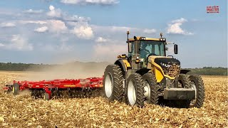 CHALLENGER 1038 Tractor Working on Fall Tillage