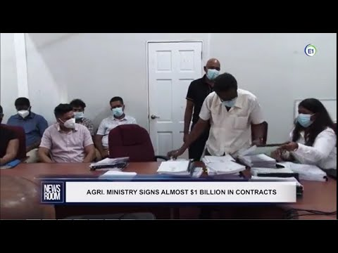 GUYANA UPDATES | Ep 229 | Ministry Of Agriculture Signs Almost GY$1 Billion In Contracts | Etc.