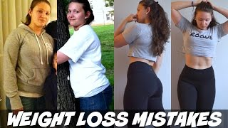 Weight Loss Mistakes I Made | 4 Reasons I Didn't Lose Fat The Right Way