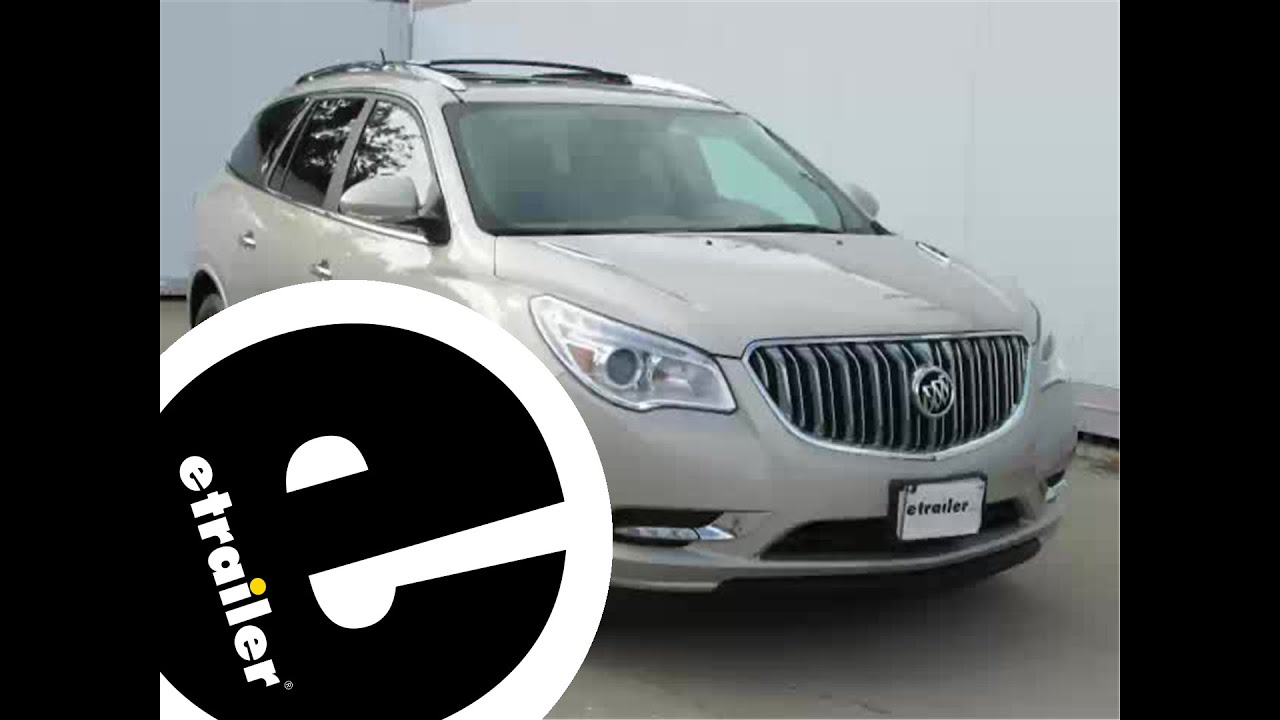 hight resolution of trailer wiring harness installation 2013 buick enclave etrailer com