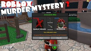 Roblox MURDER MYSTERY 2 02 - I GET MY REVENGE!