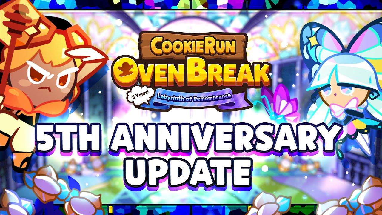 Cookie Run: OvenBreak 5th Anniversary Update Trailer