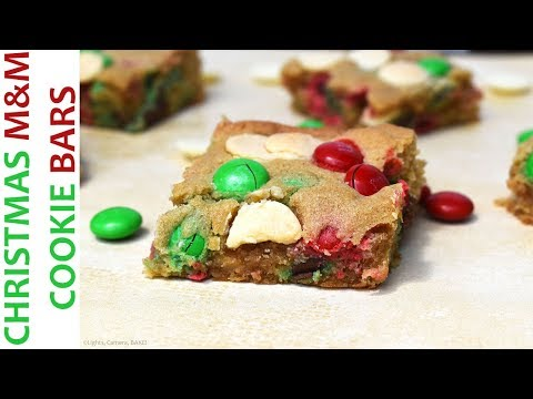 Christmas Cookie Bars | RECIPE