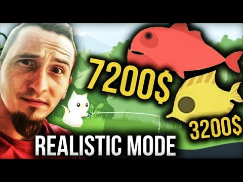 #4 Cat Goes Fishing – Realistic Mode  7200$ i 3200$
