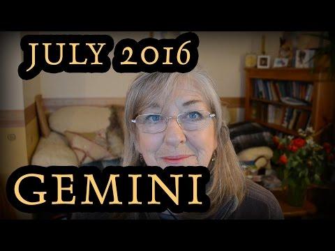 Gemini July 2016 Horoscope