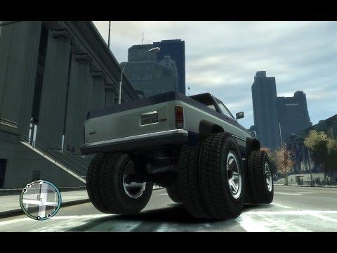 GTA IV: how to get a monster truck - (GTA IV monster truck)