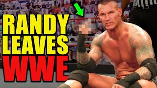 Randy Orton GONE! Randy Leaving WWE After Losing WWE Championship To Drew McIntyre On Raw LEAKED!