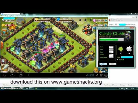 Castle Clash App Hack-Android And IOS[No Jailbreak For IOS]