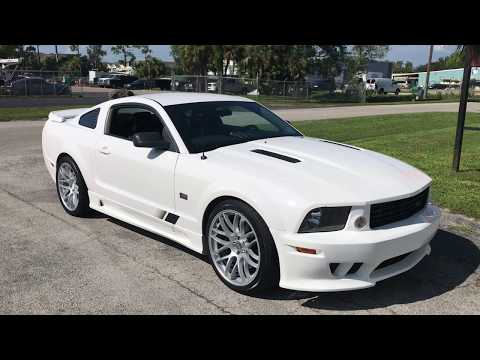 2005 Ford Mustang Saleen Supercharged  SOLD