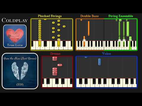 True Love (Coldplay Cover) & Synthesia Tutorial