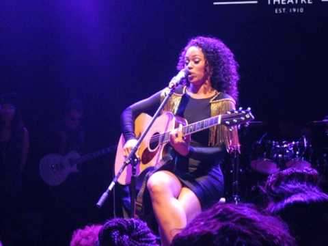 Elle Varner - Number One Song [Howard Theater - 9/6/13] NEW SONG 2013