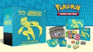 Pokemon Lost Thunder Elite Trainer Box Opening