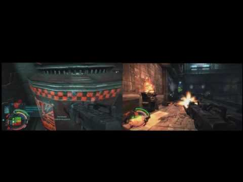 Hard reset redux and original side by side |
