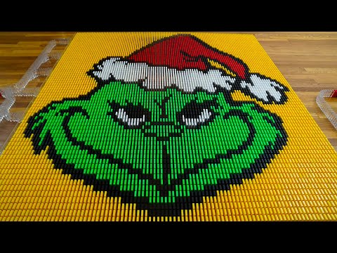 THE GRINCH in Dominoes!