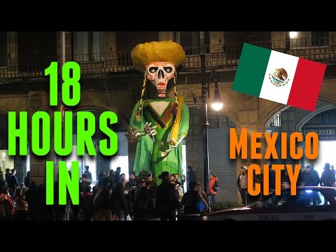 Witchcraft & Lucha Libre: 18 Hours in Mexico City
