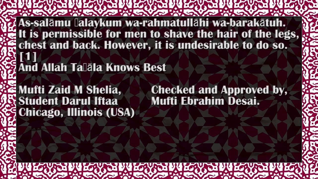Shaved muslim women — 1