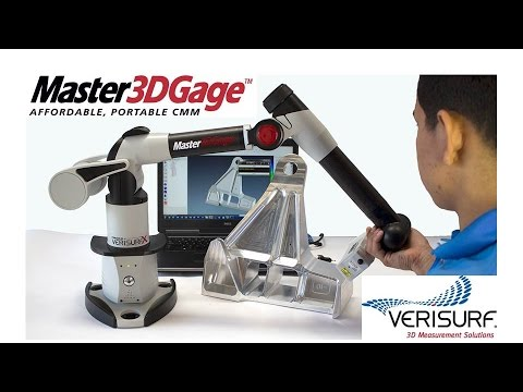 3D Scanning & Inspection with the Master3DGage