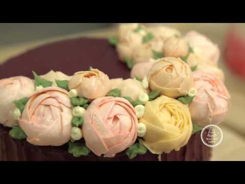 Кремовые торты в малазийском стиле. Видео курс.
