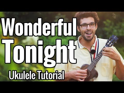 Eric Clapton Wonderful Tonight Easy Fingerstyle Ukulele Tutorial