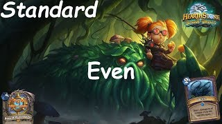 Hearthstone: Even Warlock Post-Nerf #11: Witchwood (Bosque das Bruxas) - Standard Constructed