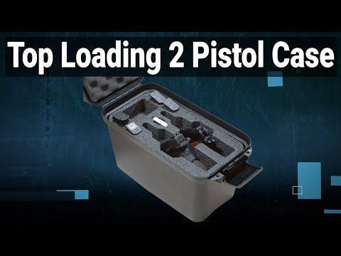 Top Loading 2 Pistol Case - Video