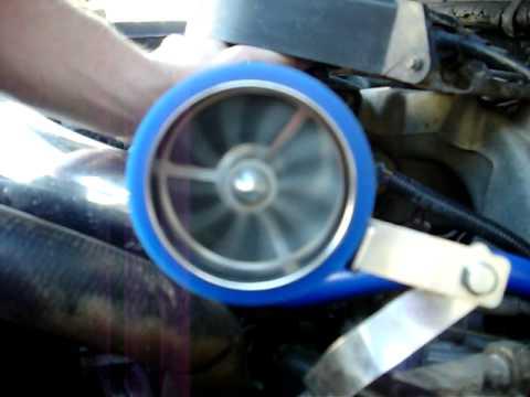 1987 d f150 5.0L turbonator test