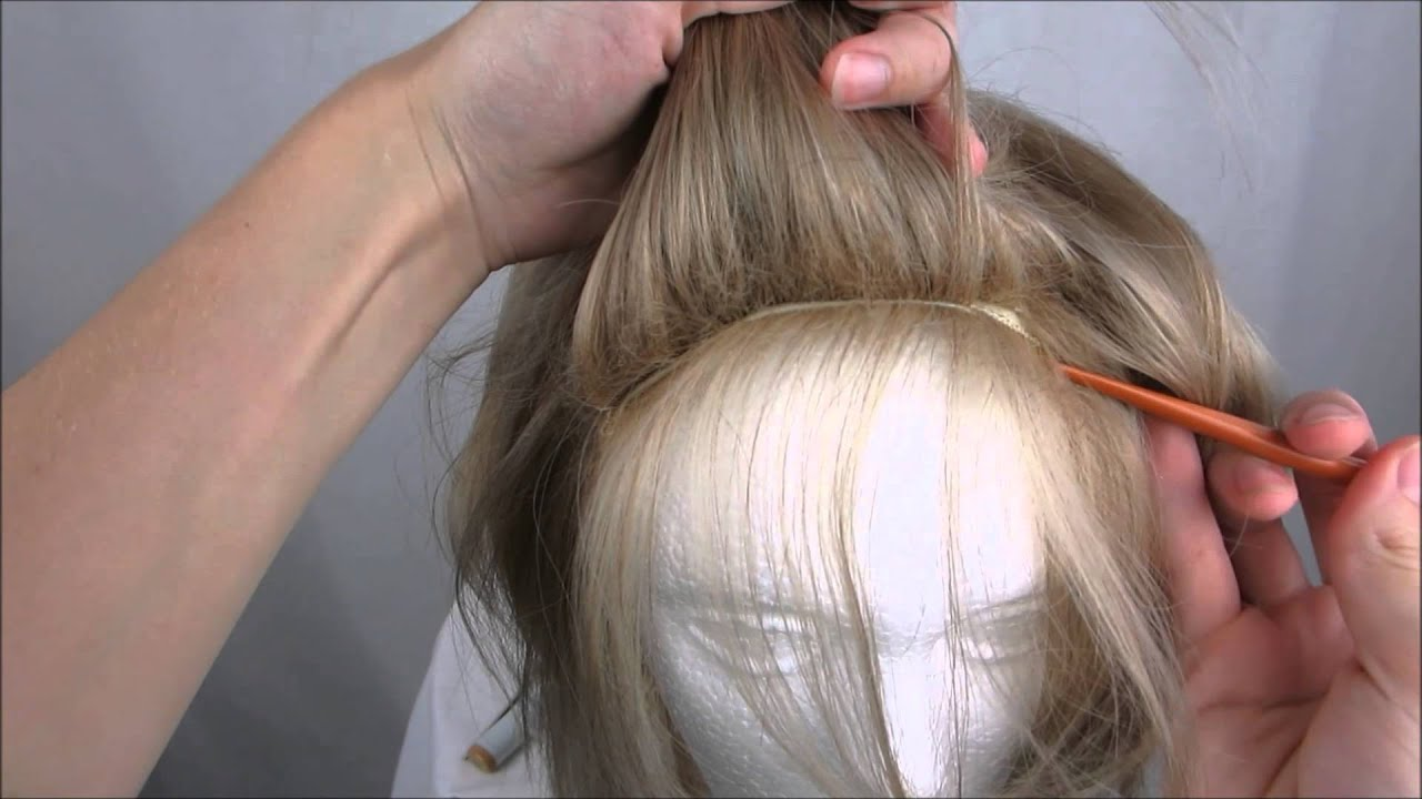 Wig tutorial: Coloring roots with Alcohol-based markers - YouTube