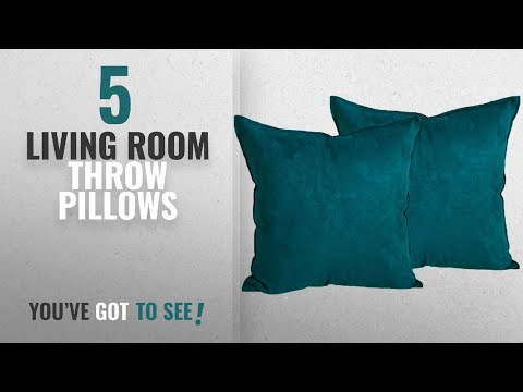 Top 10 Living Room Throw Pillows [Winter 2018 ]: 2-Pack Cushion Covers New Design Solid Color