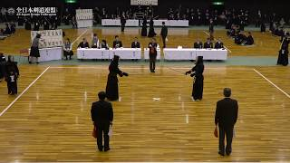 KANAGAWA sv MIYAZAKI 66th All Japan Interprefectrue Kendo Championship 2018 1st Round
