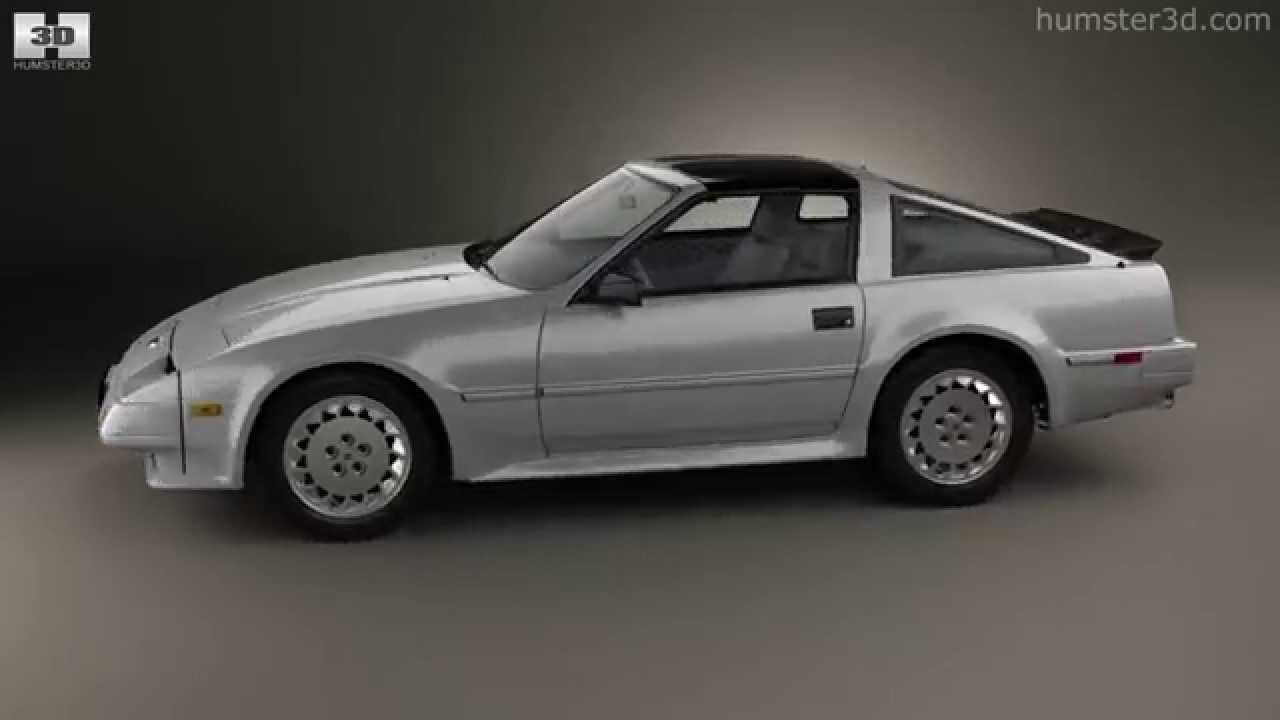 nissan 300zx z31 turbo 1983 by 3d model store youtube. Black Bedroom Furniture Sets. Home Design Ideas