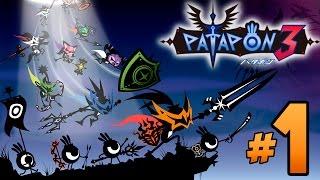 Patapon 3 - Let´s Play en Español - Episodio 1 Cuando dios y el heroe fueron uno.