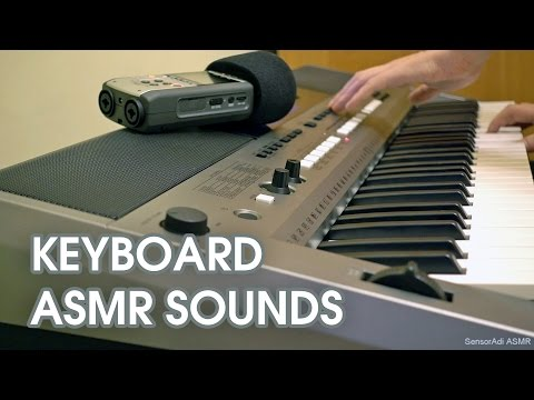 Keyboard Tapping + ASMR Sounds