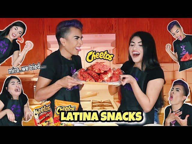 Cooking HOT CHEETO MOZZARELLA STICKS with YOATZI!! | Louie's Life