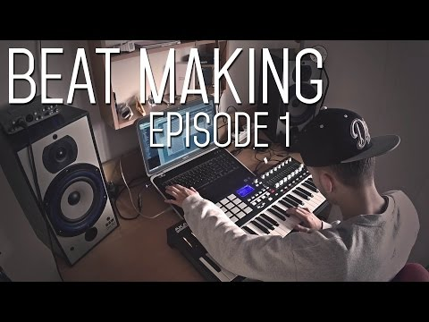 Beat Making - Producer Fly Simon Making A Dope Rap Beat 2014