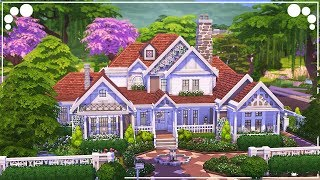 BRIGHT DREAM FAMILY HOME 💕 | The Sims 4 | Speed Build