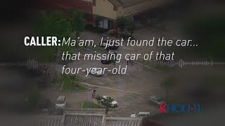 RAW: Woman Calls 911 After Finding Car Involved In 4-Year-Old Maleah Davis' Disappearance