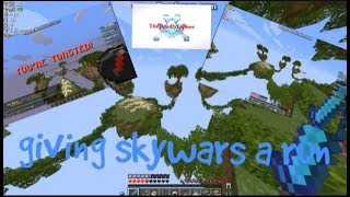 Hypixel Skywars (Funny Moments) w/ TheAmasianOne & Diamoend! (SpeedUp)