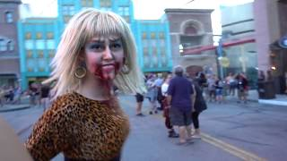 Vamp 85 Scare Zone Halloween Horror Nights 2018