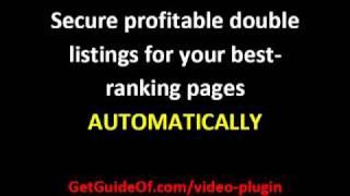 Video Sitemap Wordpress Plugin