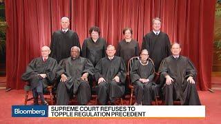 Supreme Court Refuses to Topple Regulation Precedent