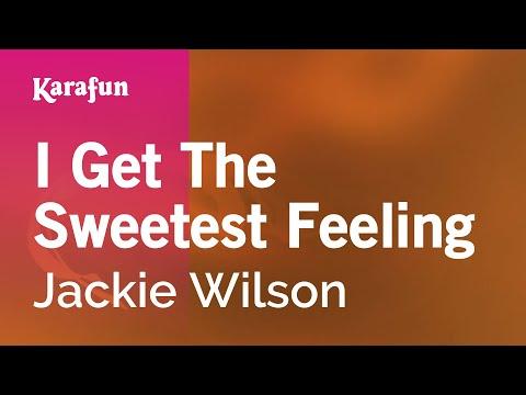 Karaoke I Get The Sweetest Feeling - Jackie Wilson *