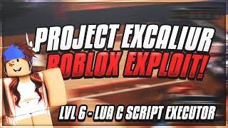 [OP ASF] ROBLOX EXPLOIT/HACK: ✔️PROJECT EXCALIBER✔️ 🔷FE CHECKER, FULL LUA C & SHUT DOWN GAMES!🔷