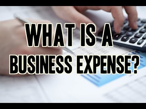 What Is A Business Expense? | How To Keep Track Of Expenses