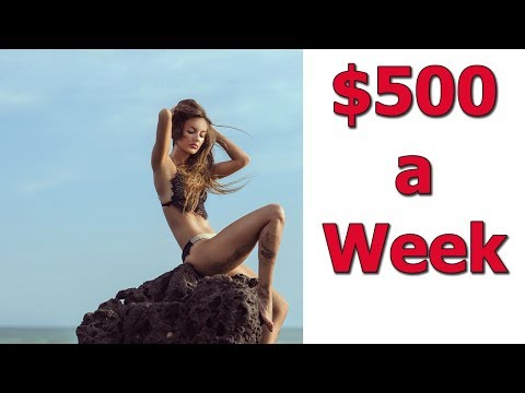 How To Make Fast Easy $500 a Week Online | Real Money for Real Work