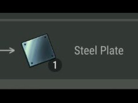 Crafting Steel Plate | last day on earth 1.6