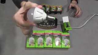Обзор светодиодной лампы TURBO G45 6,5W E14 4000K EUROLAMP