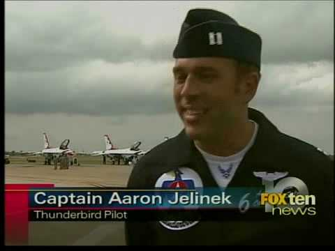 Thunderbirds at Eglin Air Force Base
